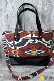 pattern for tote bag with zipper totebag yuki