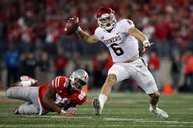 Ohios State Flag Oklahoma U0027s Baker Mayfield Just Stunted On Ohio State The Ringer