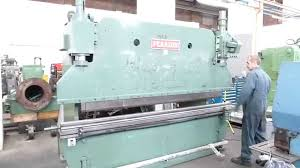 pearson 100ton x 3m press brake sold youtube