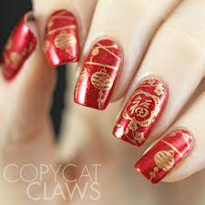 chinese new year manicure chinesenewyear rednails nailart new