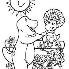 barney friends coloring pages barney friends coloring