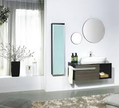 modern bathroom vanities as amusing interior for futuristic home small modern bathroom vanities design using wooden material completed with oval wall mirror design ideas