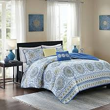 Home Essence Comforter Set Amazon Com Home Essence Springfield 7 Piece Comforter Set