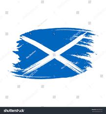 vector flag scotland vector illustration scotland stock vector