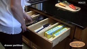 drawer partitions showplace kitchen convenience accessories