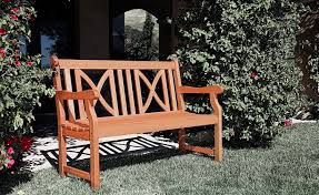 amazon com vifah v446e outdoor two person bench softcross