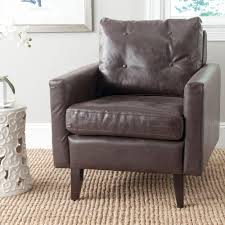 Mainstays Sofa Bed Safavieh Chloe Brown Faux Leather Club Arm Chair Mcr4571g The