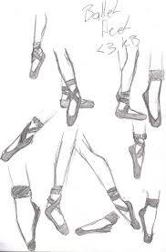 ballet feet sketch by kerry483 on deviantart