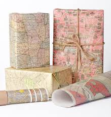 map wrapping paper roll historic maps wrapping paper 12 sheets