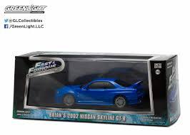 nissan skyline new model 86219 1 43 2002 blue nissan skyline gtr fast u0026 furious new