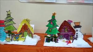 Diorama House 2013 Christmas Diorama By Marine Parade Crestarart Youtube