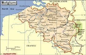 map of begium geographical map of belgium major tourist attractions maps