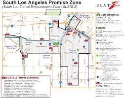 Pz Map Economic Roundtable South La Promise Zone Research