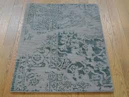 Oriental Rug Design 2 U0027 X 3 U0027 Wool And Silk Broken Design Heriz Handmade Oriental Rug