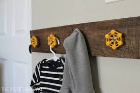 Decorative Coat And Hat Hooks 15 Clever Ideas For Diy Hooks Diy Coat Racks