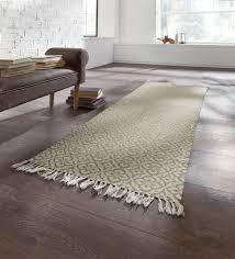 teppich lã ufer flur teppich läufer braun nzcen
