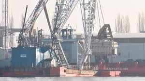 Heavy Lift Crane Lodbrok 200 Tons Abb Transformer Port Szczecin