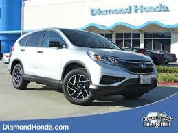 honda crv used certified used certified one owner 2016 honda cr v se city of industry ca