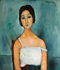 modigliani woman with a fan that s part of his charm christina by modigliani the alternative