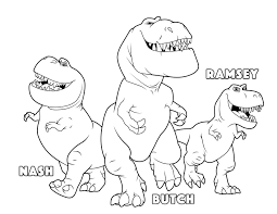 the good dinosaur butch ramsey nash coloring pages kids coloring