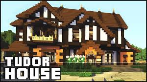 Tudor Revival House Plans by Minecraft Tudor House Youtube