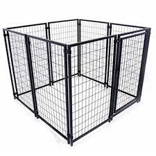 Dog Crate Covers Aleko 5 U0027x 5 U0027 X 4 U0027 Dog Kennel Heavy Duty Pet Playpen Dog Exercise