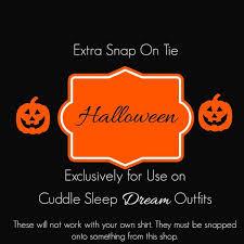 clearance halloween ties u2013 cuddle sleep dream
