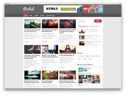 portal wordpress news theme wordpress templates pinterest