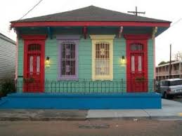 new orleans colorful houses colorful house in new orleans photo free download