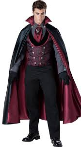 mens costumes men s vire costume midnight count costume