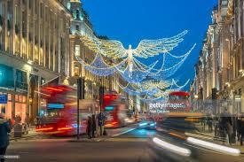 christmas lights regent street west end london england united