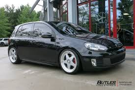 vw gti with 19in avant garde m240 wheels exclusively from butler