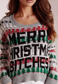 merry bitches sweater lyst missguided merry cropped jumper greyï