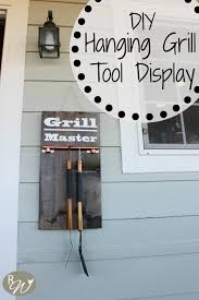 Really Cheap Home Decor Diy Hanging Grill Tool Display Sign Monthly Home Depot Challenge I