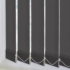 Vertical Blinds Room Divider Vitra Blackout Zinc 89mm Vertical Blind Direct Blinds
