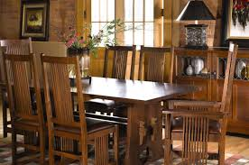 mission dining room table furniture stickley dining traditions at home mission dining room