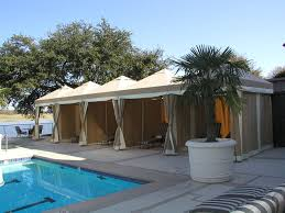 Awnings Dallas Awnings Dallas Fort Worth Cabanas By The Pool