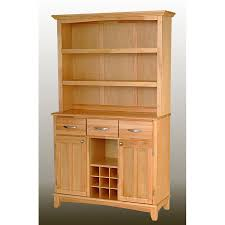 Wooden Bakers Rack Large Wood Baker Rack Open Hutch Hayneedle Wooden Bakers Rack From