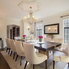 Upholstered Linen Dining Chairs Light Gray Linen Dining Chairs Design Ideas