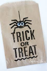 trick or treat bags diy treat bags silhouette portrait promo giveaway