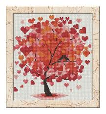 free cross stitch pattern tree diy 100 ideas