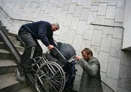 moscow u0027s citizens with disabilities face a fierce uphill battle