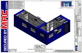 security guard house floor plan turnstile blog pre fabricated guard house