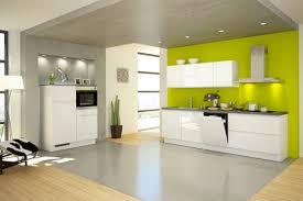 peinture verte cuisine peinture cuisine vert anis idées décoration intérieure