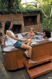 simple tub deck home u0026 gardens geek