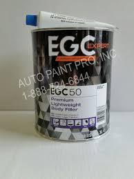 egc50 european genuine coatings premium lightweight auto filler restoration auto paint supplies