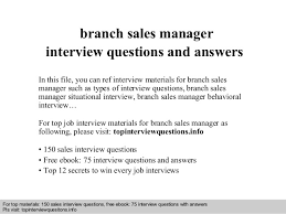 Retail Sales Resume Sample by Branch Sales Manager Resume