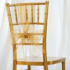 yellow chair sashesaffordable wedding favors organza chair sashes tableclothsfactory