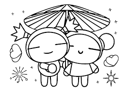 pucca coloring pages for kids and for adults coloring home