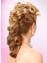 side view of pulled back hair in a bun side hairstyles for prom gorgeous side prom hairstyles